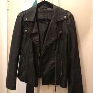 Max Studio Black Moto Jacket